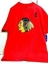 Hanes Official NHL & NHLPA Chicago Blackhawks Red T-Shirt (Keith 2) Large - $7.38