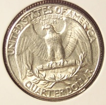 1934 Silver Washington Quarter MS63  #915 image 2