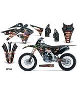 Dirt Bike Kit Graphique Décalque Mx Enveloppe pour Kawasaki KX250F 2013-... - $168.25