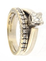 Women's 14kt White Gold Wedding set - $1,399.00