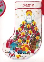 Vintage Jiffy Sunset Babys Fantasy Tree Crewel Needlepoint Stocking Kit ... - $99.95