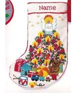 Vintage Jiffy Sunset Babys Fantasy Tree Crewel Needlepoint Stocking Kit ... - $99.95