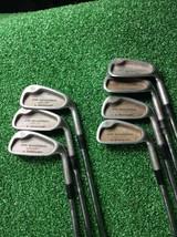 Dunlop Seve Ballesteros Gold 3, 4, 5, 6, 7, 9, P Iron Set Steel, Right h... - $59.99
