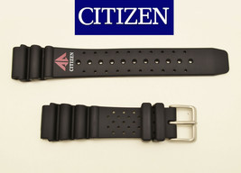 Genuine Citizen 59-97541 BLACK  Rubber Replacement  20mm Watch Band strap  - $34.95