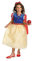 Toddler 3T-4T Deluxe Snow White Licensed Disney Costume by Disguise/NWT - ₨1,892.93 INR