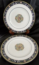 "Wedgwood Runnymede Blue Salad Plates 8.25"" (2) - $46.71"