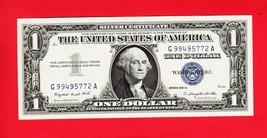 SERIES 1957 A    ONE DOLLAR SILVER CERTIFICATE==CRISP/UNCIRCULATED  COND... - $6.62