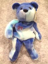 SALVINO'S BAMMERS OPENING DAY SPRING 1999 SAMMY SOSA #21 BLUE LT BLUE BE... - $6.78