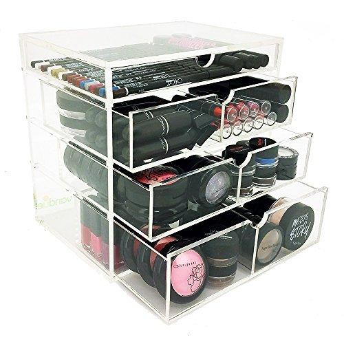 OnDisplay 4 Tier Manhattan Acrylic Cosmetic/Makeup Organizer - $47.47