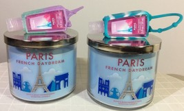 Paris 3-Wick Candle Bath & Body Works with Free PocketBac and Holder.  - $20.00