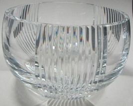 Signed Lenox Cut glass Triumph bowl Crystal  Made in USA - $63.44