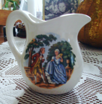 Possibly McCoy Small Creamer-Courting Colonial Couple Transfer-USA - $10.00