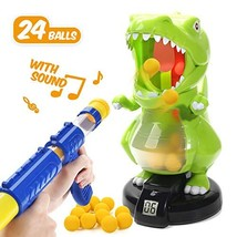EagleStone Dinosaur Shooting Toys for Kids Target Shooting Games with Air Pump - $50.71