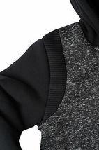 Active Cult Boys Kids Black Fleece Lined Zip Up Sports Hoodie Jacket XL (18-20) image 5