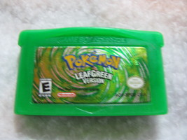 Pokemon Leaf Green Version. Game boy Advance. Nintendo. - $30.00