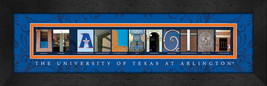 University of Texas at Arlington Officially Licensed Framed Campus Lette... - $39.95