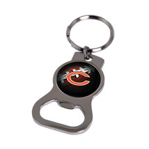 Non Metal Nfl Chicago Bears Bottle Opener Key Ring By Rico Industries (Length=1. - $11.62
