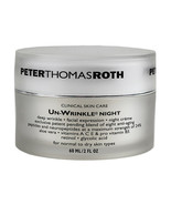 Peter Thomas Roth Clinical Skin Care Un-Wrinkle Night Cream 56g/2oz SEALED - $66.95