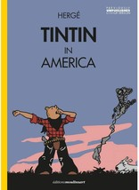 Tintin in America colorized english hardcover version - Waking Up New & Sealed image 2
