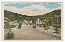 Street Scene Kimberly Heights Asheville North Carolina postcard - $6.44