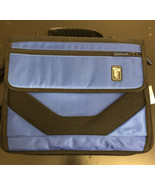 "Tech Gear Padded Tablet Shoulder Bag 2"" D Ring Zipper Binder Filing System - $13.56"