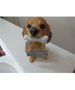 Dog , Welcome  , Figurine , Vintage, Collectible - $20.00