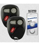 2 For 1999 2000 2001 Chevrolet Silverado 1500 2500 3500 Car Remote Key Fob - $16.71