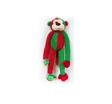 Multicrew Monkey for Dog Toy - L - Plush - squeakers - $14.80