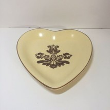 """Heart Shape Plate Pfaltzgraff Village 8.75"""" - $14.50"""
