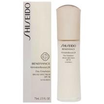 Shiseido Benefiance WrinkleResist24 Day Emulsion SPF 18 2.5 oz SEALED - $64.00