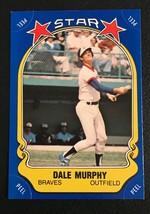 1981 Fleer Star Sticker Dale Murphy Baseball Card #119 - $1.49