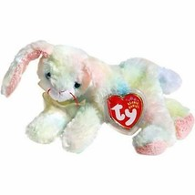 Cottonball the Ty-Dyed Easter Bunny Ty Beanie Baby Retired MWMT Collectible - $7.87
