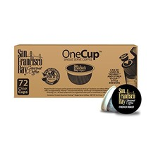 San Francisco Bay OneCup, French Roast, 72 Single Serve Coffees - $43.29