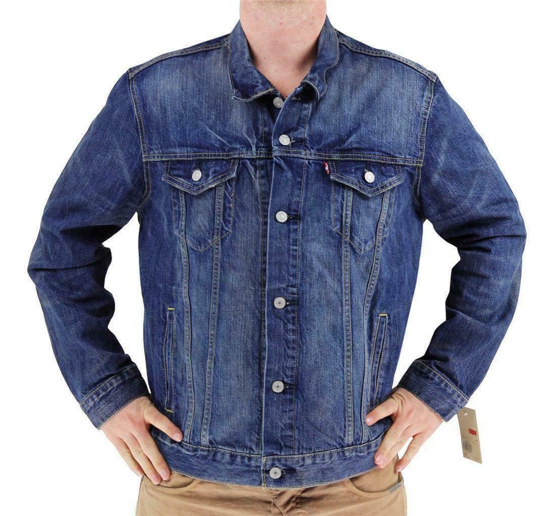 Levi's Men's Premium Button Up Denim Jeans Jacket Two Color 723350009