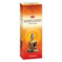 Hem Meditation Sticks Beautiful Handmade Natural Fragrances 6x20= 120 Sticks - $16.23