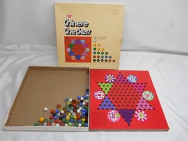 Old Vtg Whitman Chinese Checkers Game #4717 Marbles Gameboard - $19.79