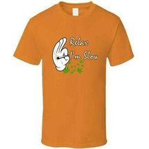 Relax I'm  Slow 420 Canna T Shirt image 8