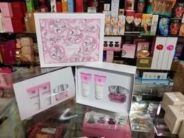 Versace Bright Crystal 3 Pc Women Gift Set 1.7 Oz Edt Spray Lotion Shower Gel - $98.99