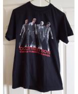 T-Shirt 2010 Backstreet Boys This Is Us Tour Toronto Canada S Black 100%... - $12.99