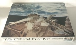 Vtg Great American Puzzle Factory The Dream Is Alive Space 550 Pcs 1989 Sealed - $19.95