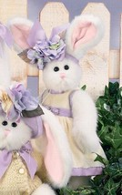 "Bearington Bears ""Nora""  11"" Plush Bunny Rabbit- #4151 - NWT- 2005 - $29.99"