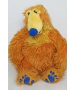 "Disney Bear in the Big Blue House large plush orange teddy Mattel 18-19""  - $19.79"