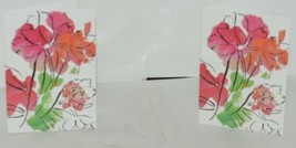 Caspari 88610 46 Abstract Floral 8 Assorted Boxed Notes With Envelopes image 2