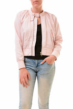 Free people Women's Unique Midnight Bomber Blush Size XS RRP 68 BCF77 - $42.89
