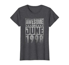 Uncle Shirts -   Awesome Since JUNE 1998 Straight Outta 20 Years Old Being Wowen image 1