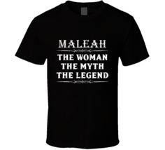Maleah The Woman The Myth The Legend Mother's Day Gift For Her Trendy T ... - $20.99
