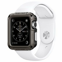 Apple Watch Rugged Armor Case Series 3 2 1 & Built In Screen Protector 4... - $23.75