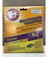 ARM & HAMMER HOOVER Y & Z VACUUM BAGS 3 PCS 67978G - $8.38