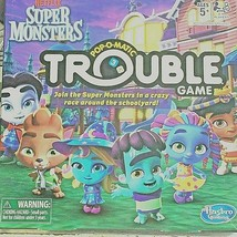 Hasboro NETFLIX Super Monsters Edition Board Game For Kids Ages 5 and up   - $15.83