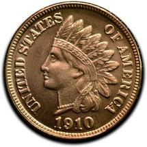 RARE 1910D Token Fantasy Dan Carr Struck On Indian Head Cent Coin Lot A 518